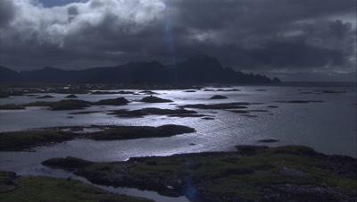 Arctic Ocean Storm Stock Footage
