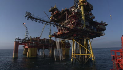 Oil Drilling Stock Footage