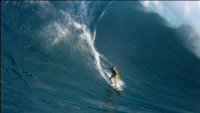 "Big Wave Tow Surfing At ""Jaws"" Maui.Hawaii"