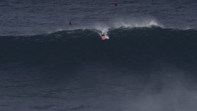 Jaws, Peahi - big wave surfing wipeout