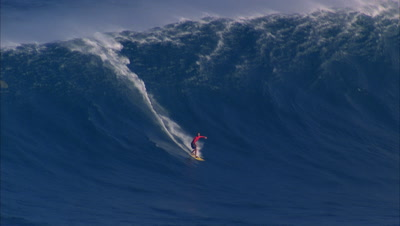 Big Wave and Surfing POV