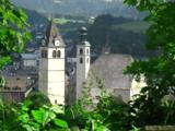 Churches In The Small Town Of Kitzbuhel In Tirol