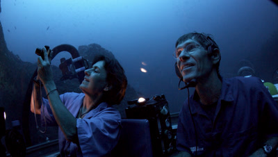 People In The Deepsee Submersible, Cocos Island