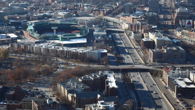 4K UltraHD A timelapse view of a Boston, Massachusetts neighborhood