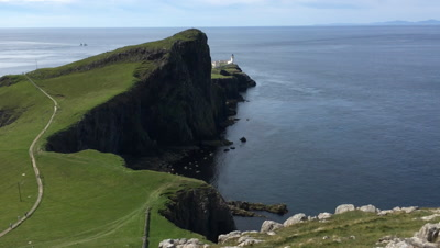 4K UltraHD View of Neist Point, Isle of Skye, Scotland