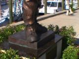 Tarpon Springs Florida - Hard Hat Diving Statue On Dodecanese Ave.