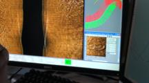 Side Scan Sonar - Display Detail At Night