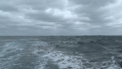 Stormy Seas, Waves, Ocean Surface, 4k