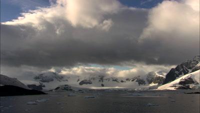 Antarctic Storm Stock Footage