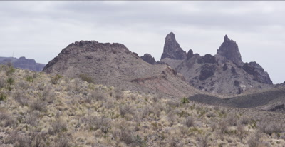 Mule's Ears Mountains - Big Bend National Park