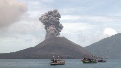 Volcano Stock Footage