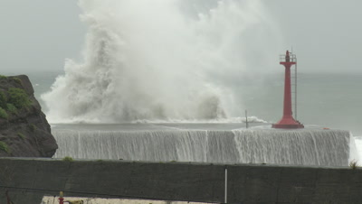 Hurricane and Typhoon Stock Footage