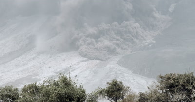 Volcano Pyroclastic Flow Ash Eruption