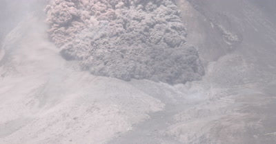 Amazing Pyroclastic Flow Volcanic Eruption