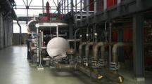 Interior Of Geothermal Power Plant