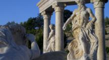 Trevi Fountain Replica, Chateau In Southern Oregon