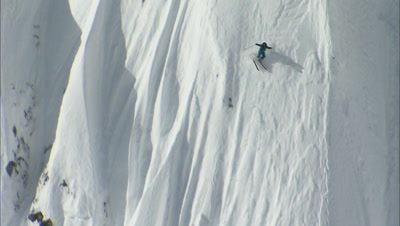 Heli-Skiing, Small Avalanche