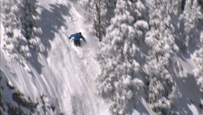Snow and Ice Sport Stock Footage