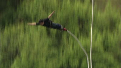 Bungy Jump Stock Footage