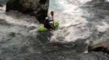 Kayaker Runs Good Rapid