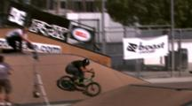 Tracking A Bmx Rider Doing A 720 And Crashing.