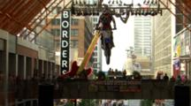 Tracking A Motocross Rider Getting Big Air.