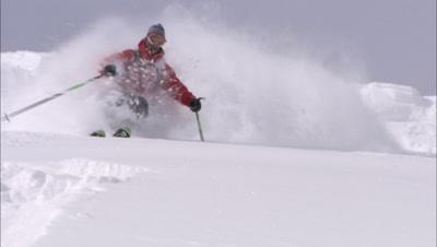 Winter Sport Stock Footage