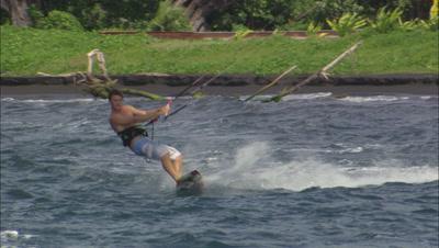 Kite Board Stock Footage