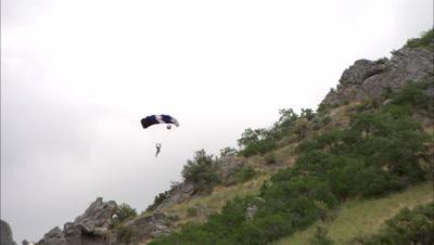 3D Skydiving Footage