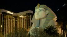 Sphinx In Front Of Luxor Hotel In Las Vegas