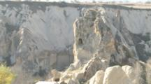 Rock Formations In Cappadocia, Turkey