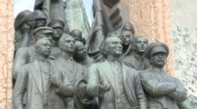 Statue Of Mustafa Kemal Ataturk And Comrades