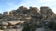 Rock Formations In Joshua Tree National Park