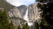 Iconic View Of Yosemite Falls