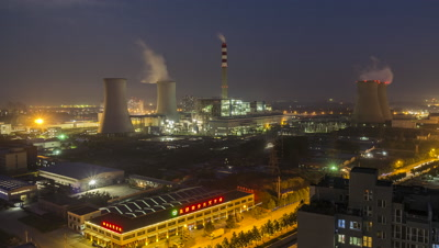 Thermal Power Plant, Yanjiao, Hebei, China