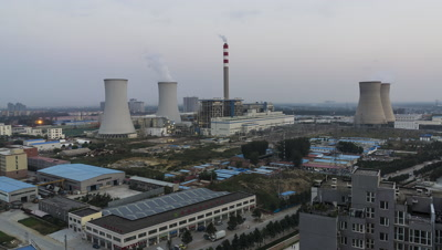 Thermal Power Plant, Yanjiao, Hebei, China,