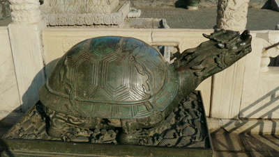 Tortoise Sculpture of Hall of Supreme Harmony, Beijing, China