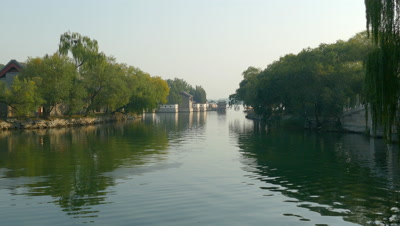 Kunming Lake Cruise in the Summer Park, Beijing, China