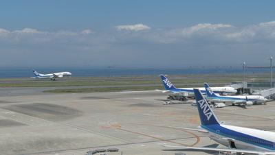 Terminal 2, Haneda Airport, Tokyo, Japan