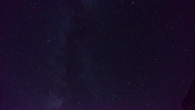 Starry Sky at Jinshanling Great Wall, Hebei Province, China