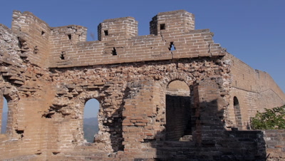 Looking out from a Guard Tower of the Great Wall, Hebei, China