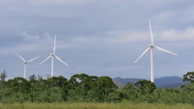 Wind Turbines in Taiwan