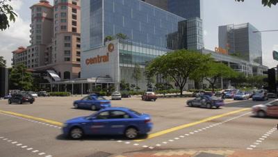Crossing in Singapore