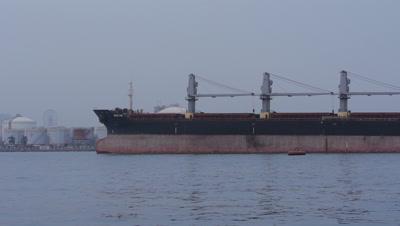 Vessel in Kaohsiung, Taiwan