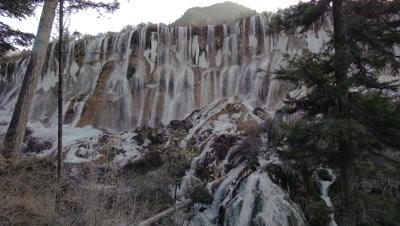 Pearl Shoal Waterfalls, Jiuzhaigou Valley, Sichuan, China