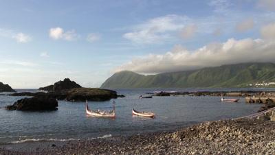 Canoe on Sea, Orchid Island, Taitung, Taiwan