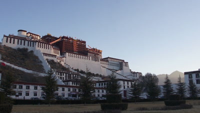 The Potala Palace, Lhasa, Tibet, Time Lapse