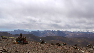 Snow-capped Mt. Everest, Tibet