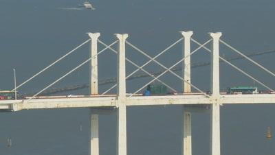View from Guia Hill, Amizade Bridge, Macau