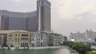 Time Lapse of The Venetian Macao, Macau, China